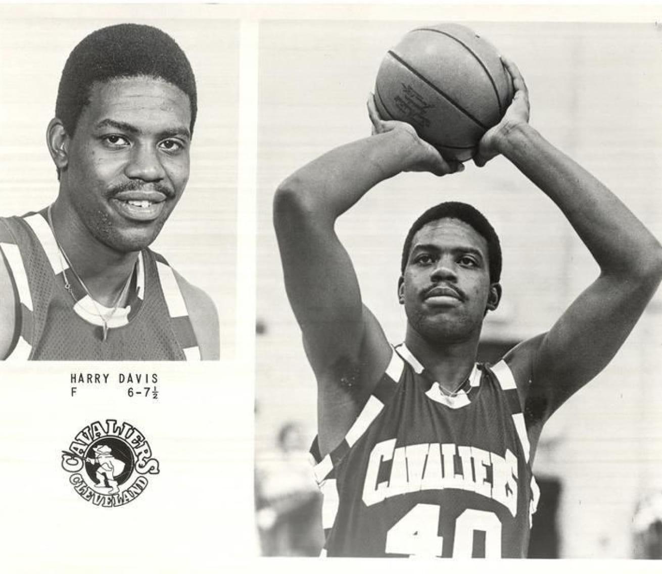 Harry Davis basketball portraits