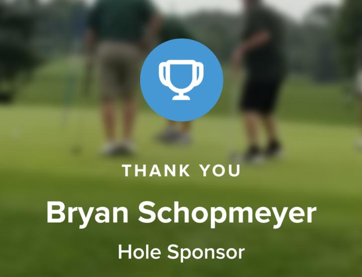 bryan schopmeyer sponsorship